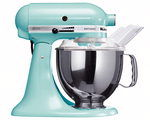 KitchenAid matberedare turkos